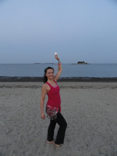 Belly Dancing at the Beach Empowering Women