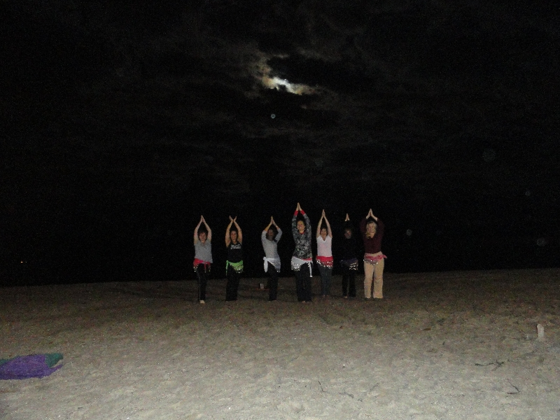 Belly Dance under the Full Moon